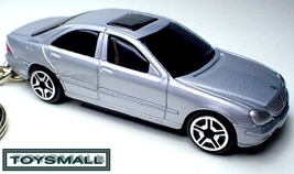 KEY CHAIN 2002~2006 SILVER MERCEDES ® S CLASS S430 S500 - $34.98