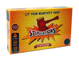 Stipulations Party Game, Let Your Negativity Shine - $30.99
