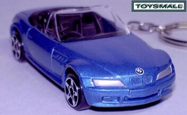 KEY CHAIN 1996~2002 BLUE BMW Z3 ROADSTER M CABRIOLET - $24.95