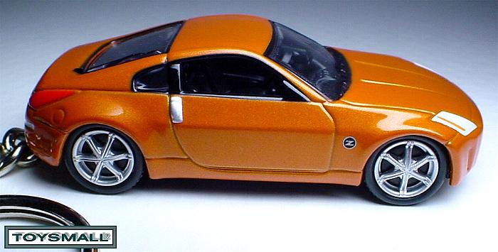 KEY CHAIN 2005/2006/2007/2008 ORANGE NISSAN 350Z Coupé  Bonanza
