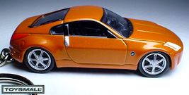 KEY CHAIN 2005/2006/2007/2008 ORANGE NISSAN 350Z Coupé  - $34.95