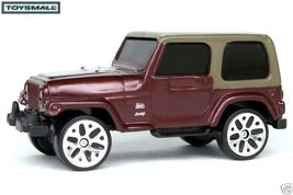 KEY CHAIN RING BROWN/MAROON JEEP WRANGLER 4X4 FOB TAG ! - $35.94