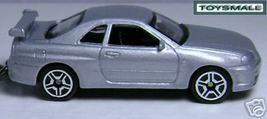 KEY CHAIN SILVER/GREY NISSAN SKYLINE GTR R34 GTR R 34 - $34.98