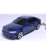 KEY CHAIN 2010/2011/2012 MONTEGO BLUE BMW 128i/135i 1 COUPE - $24.95