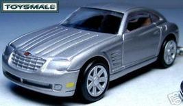 KEY CHAIN RING SILVER CHRYSLER CROSSFIRE V8 KEYRING FOB - $34.98