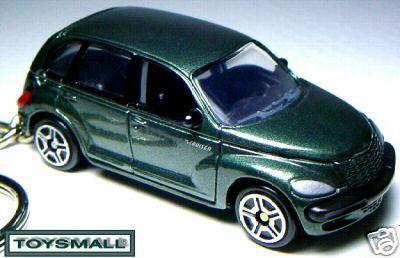 KEY CHAIN RING GREEN CHRYSLER PT/GT CRUISER KEYRING FOB Bonanza