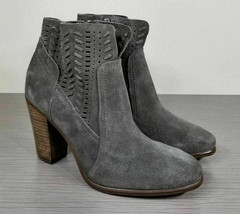 Vince Camuto Fenyia Bootie, Grey Suede, Womens Various Sizes - £32.10 GBP