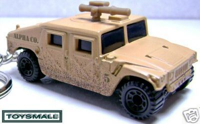 KEY CHAIN IRAQ/AFGAN USMC H1 HUMMER US HUMVEE SAND CAMO Bonanza