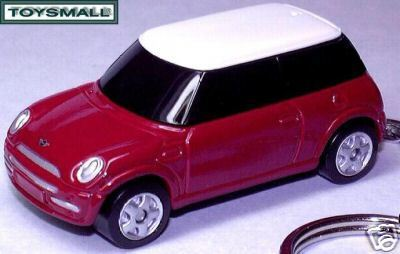2002~~2009 CHILI RED BMW NEW MINI COOPER KEY CHAIN RING Bonanza