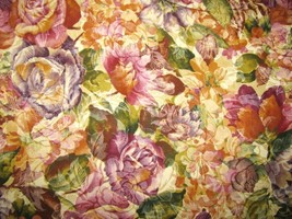 Classic Cottons Various Floral  Cotton Fabric  1 yard - $7.95