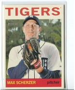 MAX SCHERZER SP 2013 Topps Heritage #469 SHORT PRINT Tigers - $9.99