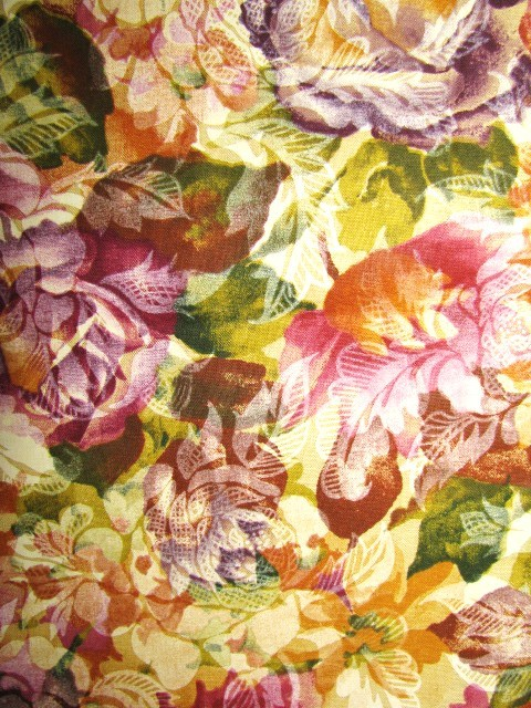 Classic Cottons Various Floral  Cotton Fabric  1 yard