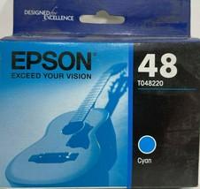 Epson - T048220-S - Ink Cartridge - 430 Page - Cyan - $19.75