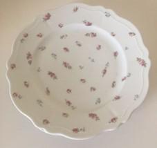 """VTG Royal Austria O & EG Pink Rose 9.5"""" Dinner Plates Scalloped Edge (S... - $13.96"""