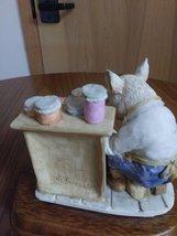 "1989 Heritage Mint Little Nook Village Peter ""Porky"" Trotter Leonardo Figurine image 6"