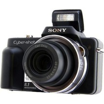Sony Cyber-shot DSC-H3/B Digital Camera - 8.1 Megapixels - 10x Optical Z... - $137.88