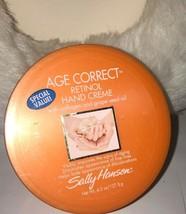 Sally Hansen Age Correct Retinol Hand Creme 4.5 Oz NEW - $22.08