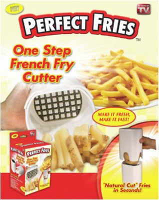 """""""Perfect Fries"""", French Fry Potato Cutter (As Seen on TV)"""