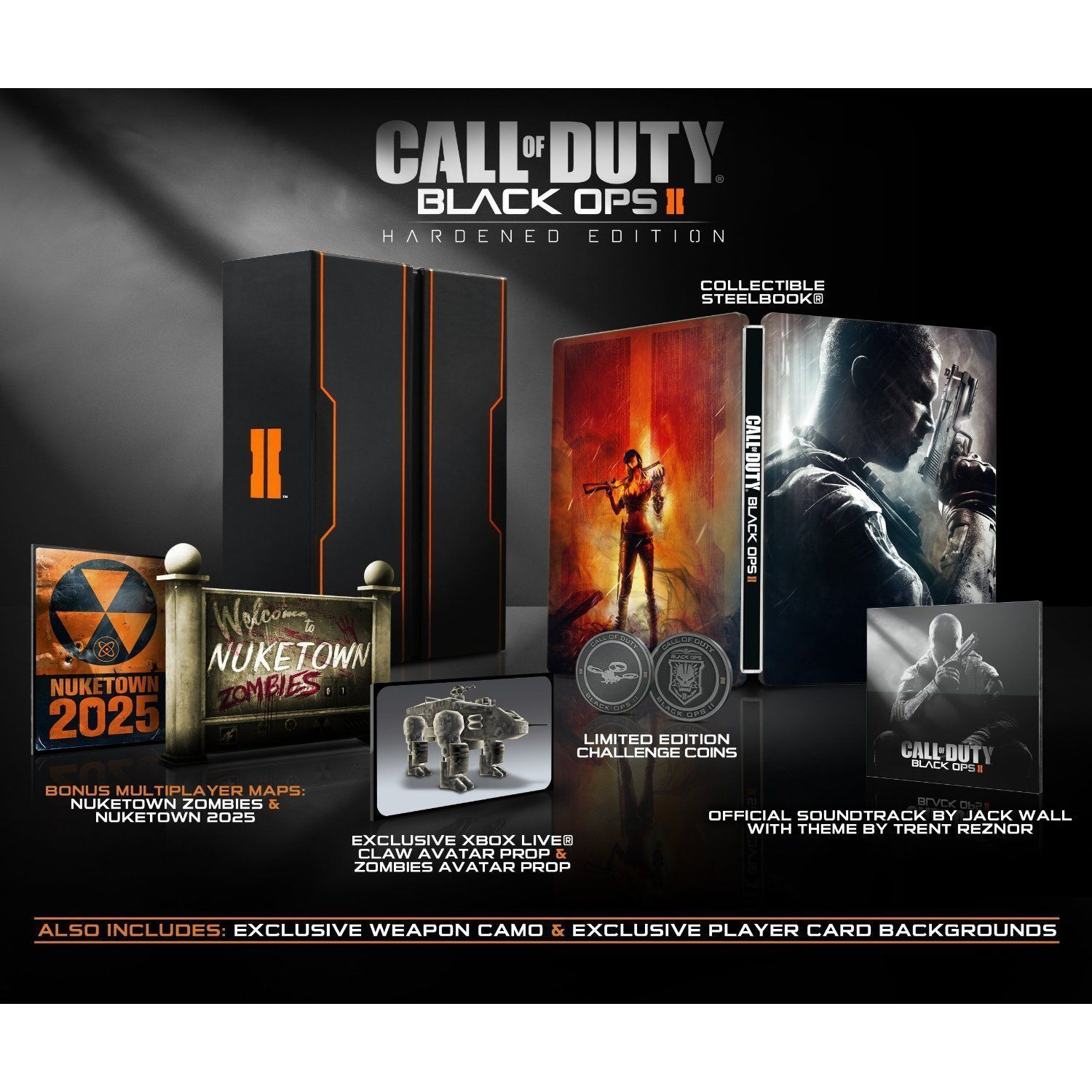 BRAND NEW Call of Duty: Black Ops II 2 Hardened Edition for Xbox 360 image 2
