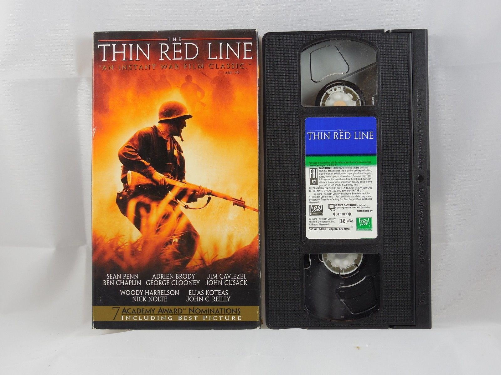 The Thin Red Line (VHS, 1999)