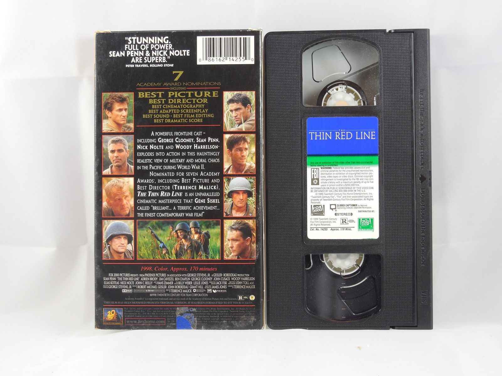 The Thin Red Line (VHS, 1999) image 2