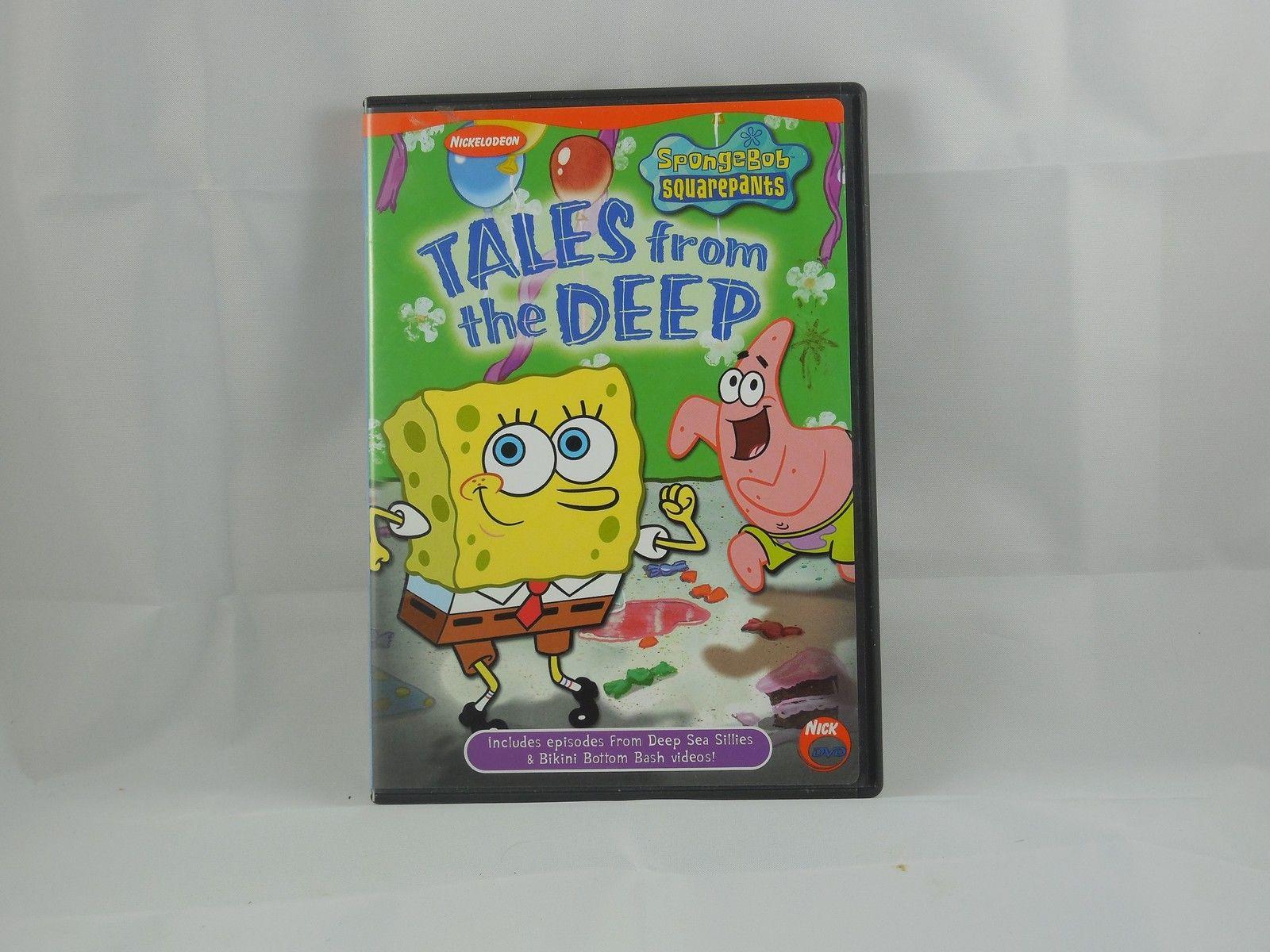Spongebob Squarepants - Tales from the Deep (DVD, 2002)