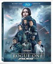 Rogue One A Star Wars Story Blu-Ray Disc ONLY!!! Felicity Jones DiegoLun... - $12.97