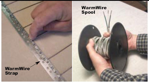 SunTouch Radiant WarmWire Spool 200 sq 240v