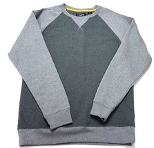 Chaps Sport Mens Long Sleeve Pullover Sweatshirt Gray Size Small - $17.99