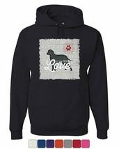 All You Need is Love Hoodie Dog Best Friend Doggie Paw Adopt Sweatshirt - $28.29+