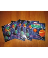 Lot 6 Wright Group books science Solar system early reader The planets l... - $8.90