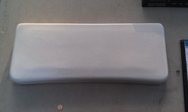 """7SS76 Universal Rundle Toilet Tank Lid, White, 21-1/4"""" X 8-3/4"""", Very Good Cond - $49.27"""