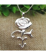 Ultra-rare Prince Rose Symbol Necklace Great Gift Any Fan Or Memorabilia... - $11.08