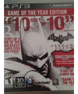 Batman Arkham City Playstation 3 complete - $6.00