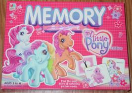 Memory Game My Little Pony 2003 Milton Bradley #41498 Complete Excellent - $10.00