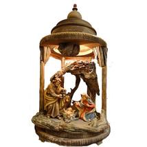 Christmas Nativity Wooden Lantern, Church supplies, Catholic christian g... - $482.00+