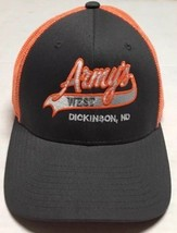 Army's West Sports Bar Hat Dickinson North Dakota Cap Alcohol Drinking B... - $12.61