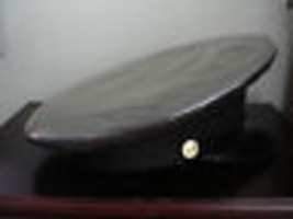 GLOBE TAILORING RARE WW11 OFFICERS MILITARY HAT&BADGE - $175.75