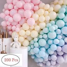 200pcs Mini Pastel Latex Balloons 5 Inch Macaron Candy Colored Latex Party Ballo