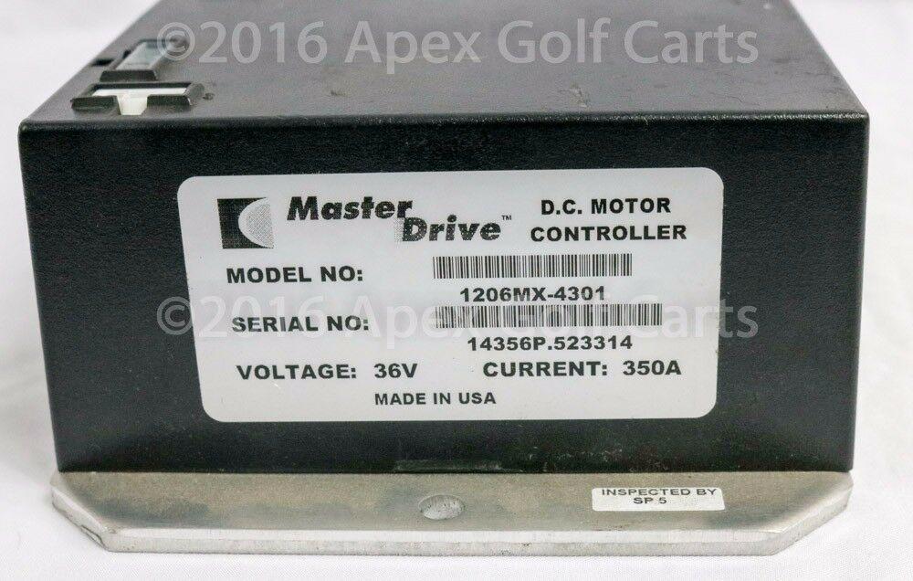 EzGo TXT Electric Golf Cart 2000-UP PDS Regen 36V ITS Controller 1206MX-4301