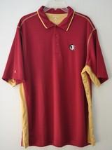 Antigua Mens Florida State Seminoles FSU NCAA ACC Embroidered Polo Shirt Sz XL - $23.03