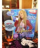 Disney Hannah Montana Encore Edition Mattel DVD Game Real TV Clips New S... - $9.99