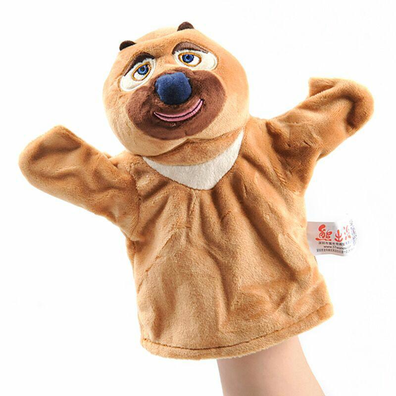 319f3a3b603e Animal Hand Puppet Stuffed Plush Baby Doll Crocodile Bear Children Unisex  Toy