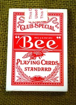"SAHARA Las Vegas No. 92 Club Special ""Bee"" Playing Cards Deck Red Casino... - $39.59"