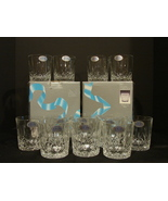 On The Rocks Glasses Lillian Pattern by Toscany SPECIAL PRICE - $48.00
