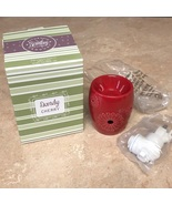 Scentsy Dandy Cherry Red Wall Wax Warmer New Scentsy - $22.00