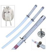 Full Tang Carbon Steel Dual Fantasy Snake Swords Sharp Edge w/Shoulder H... - $145.00