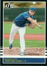 #204 Trevor Oaks Kansas City 2019 Panini Donruss MLB Baseball Card AAI - $2.02