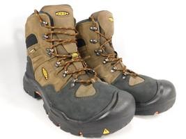 "Keen Coburg 6"" Size US 9.5 M (D) EU 42.5 Men's WP Steel Toe Work Boots 1018023"