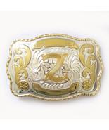 Big Size Initial Letter Z Western Belt Buckle Gurtelschnalle Boucle de c... - $12.67